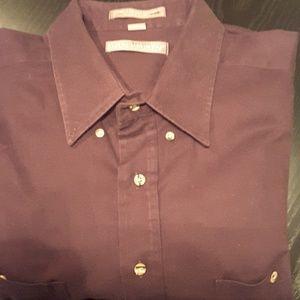 Van Heusen Shirts Mens Burgundy Dress Shirt Poshmark